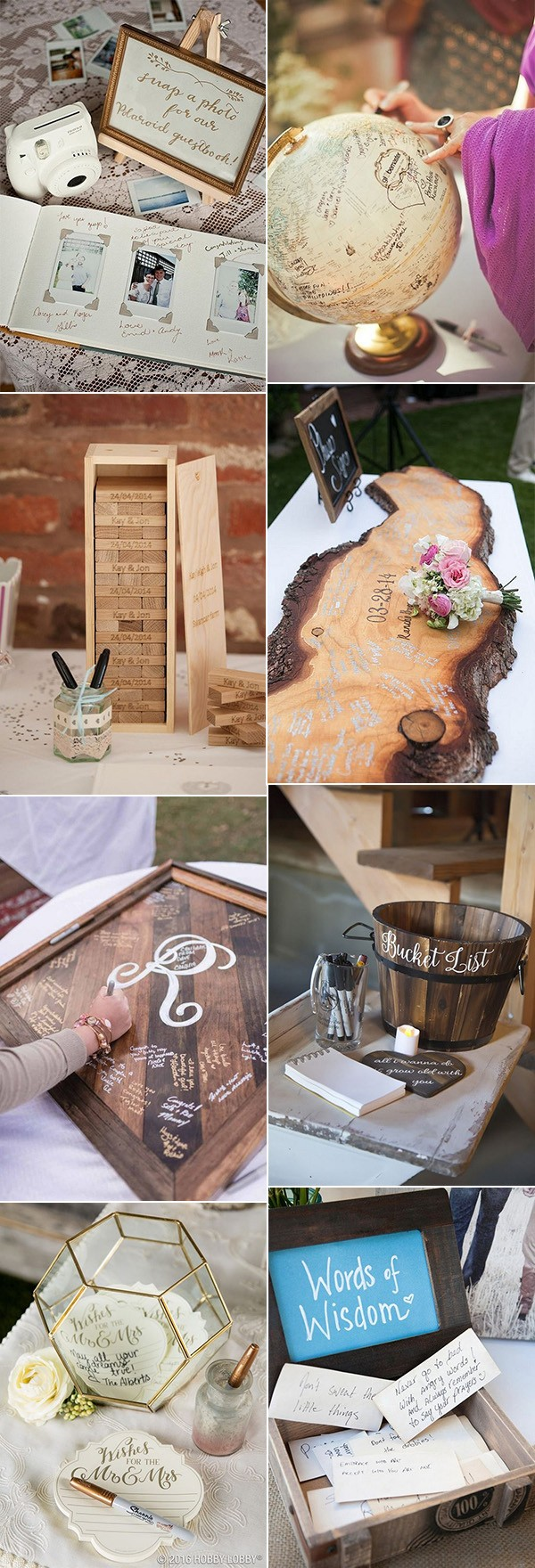 creative wedding guest book ideas for 2018
