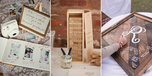 25 Creative Wedding Guest Book Ideas - EmmaLovesWeddings