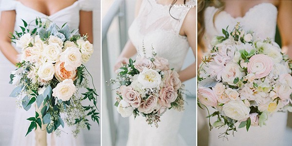 Blush Pink Wedding Bouquets