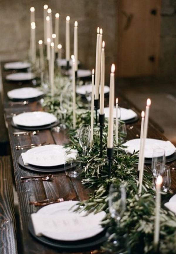 Boho Chic Greenery Wedding Centerpiece Emmalovesweddings
