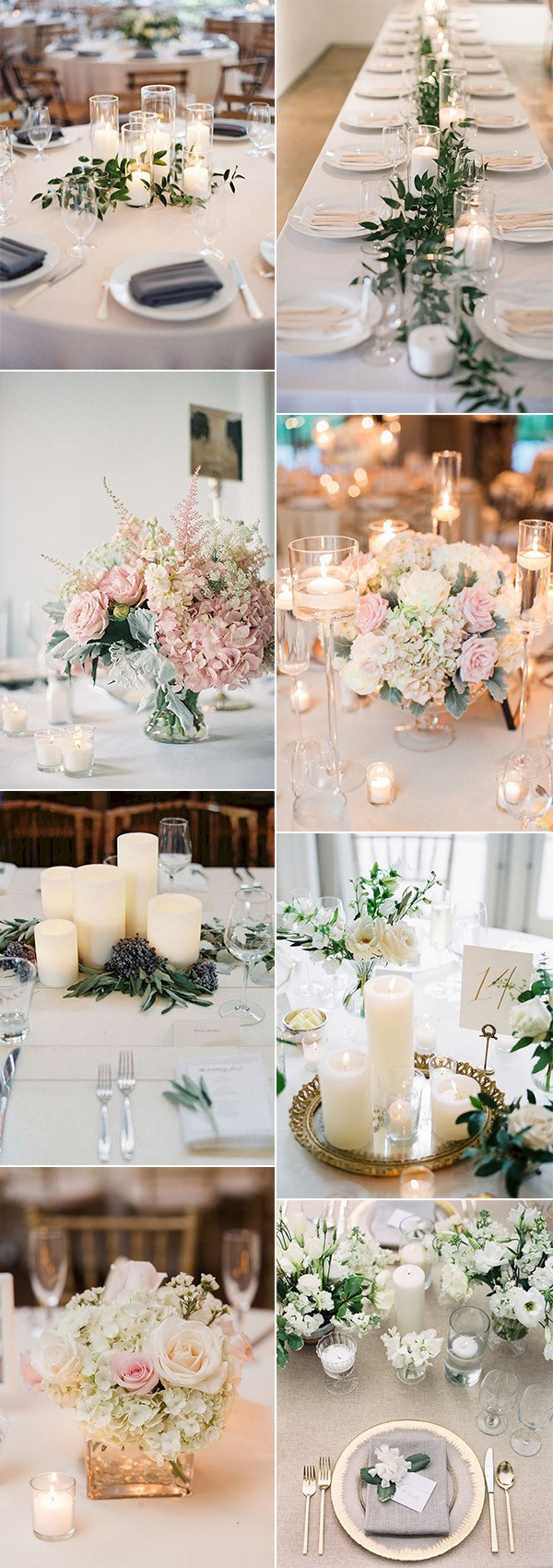 trending elegant wedding centerpiece ideas for 2018 trends