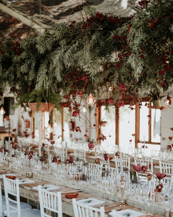 wedding reception venue decoration ideas for fall