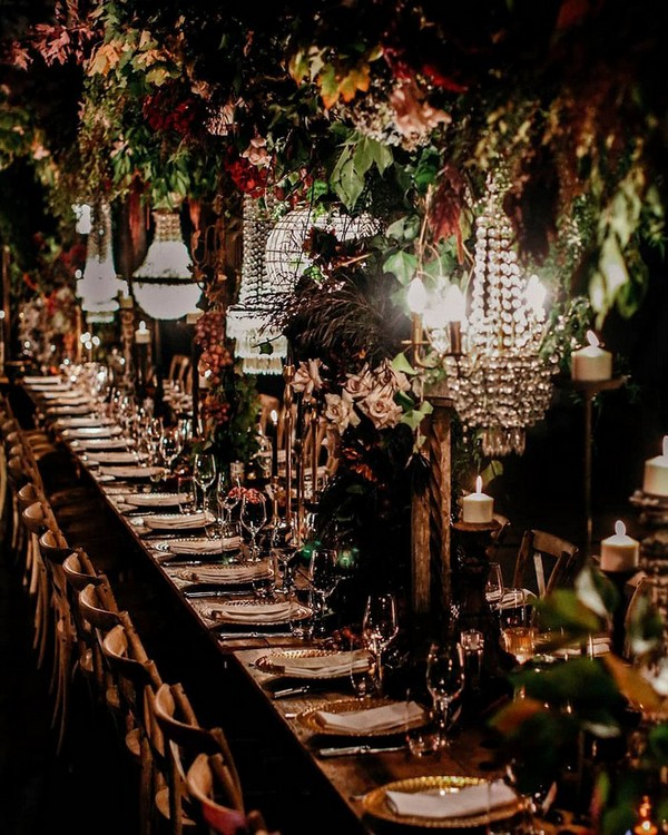 whimsical wedding reception ideas