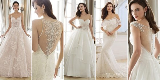 Sophia Tolli wedding dresses 2018 collection