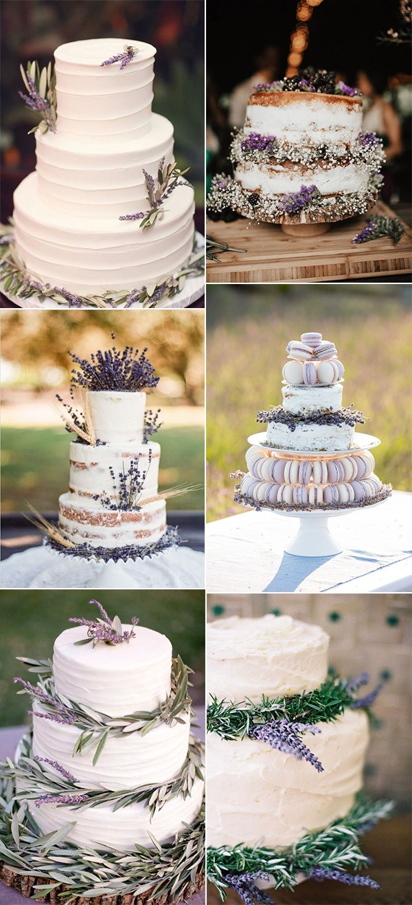 trending lavender wedding cakes for 2018