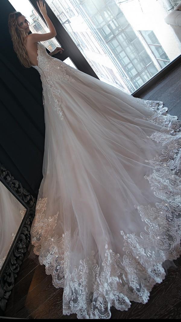 Olivia Bottega wedding dress with open back