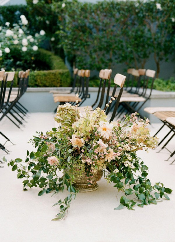 wedding ceremony aisle decoration ideas