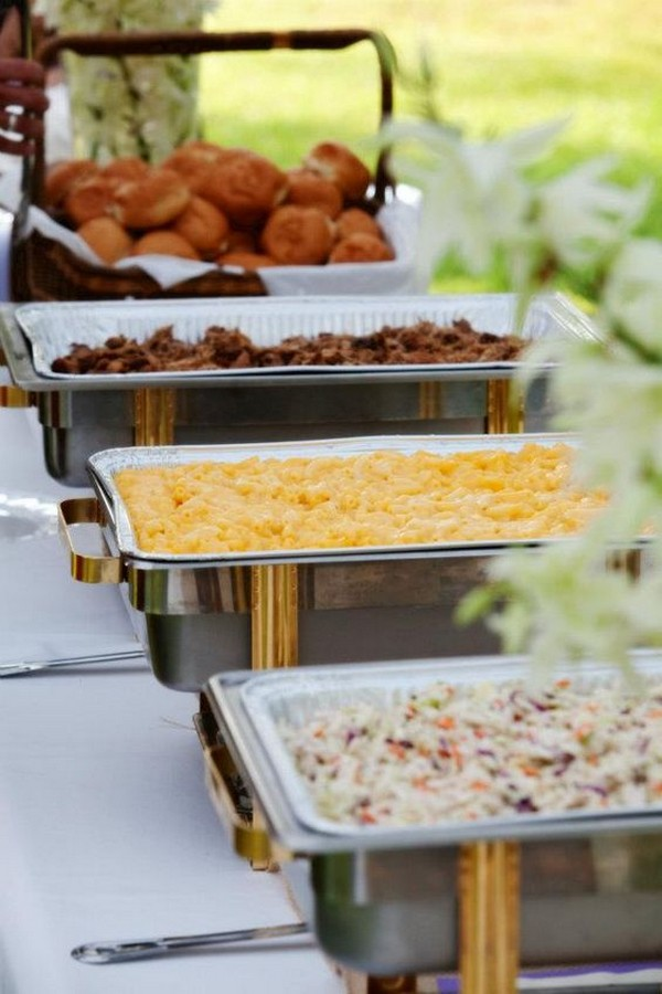 backyard wedding reception ideas bbq