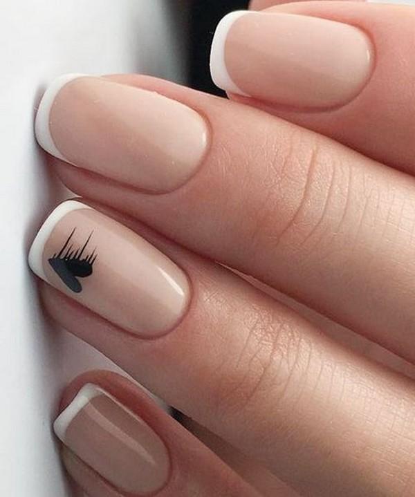 cute bridal nail ideas