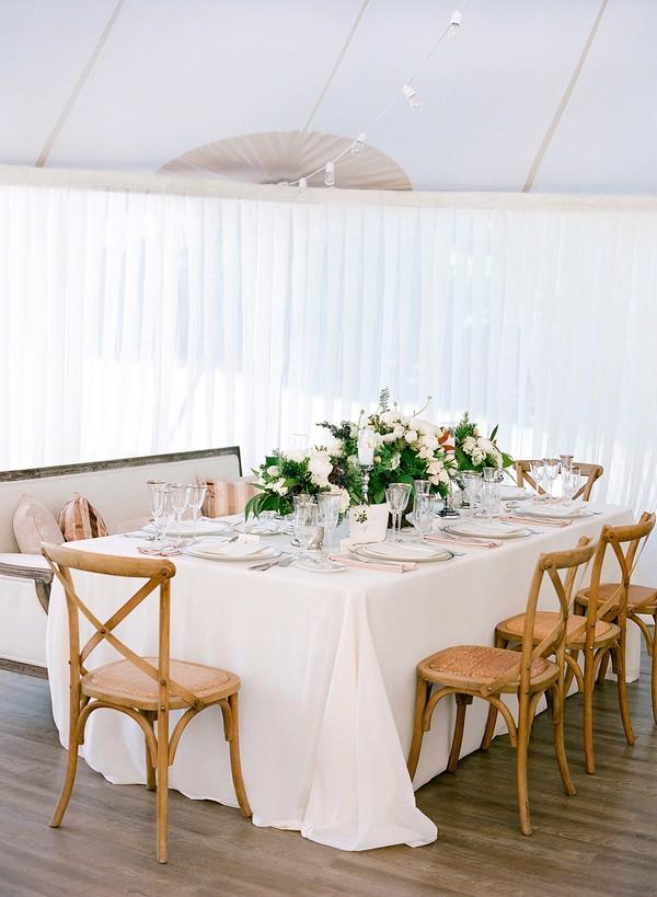 elegant chic wedding reception decoration ideas