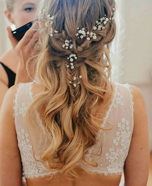 Bridal Hairstyle Tips For Your Wedding Day: 20 Boho Chic Wedding Hairstyles For Your Big Day