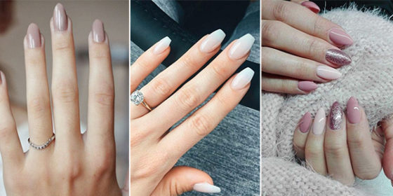 wedding bridal nails