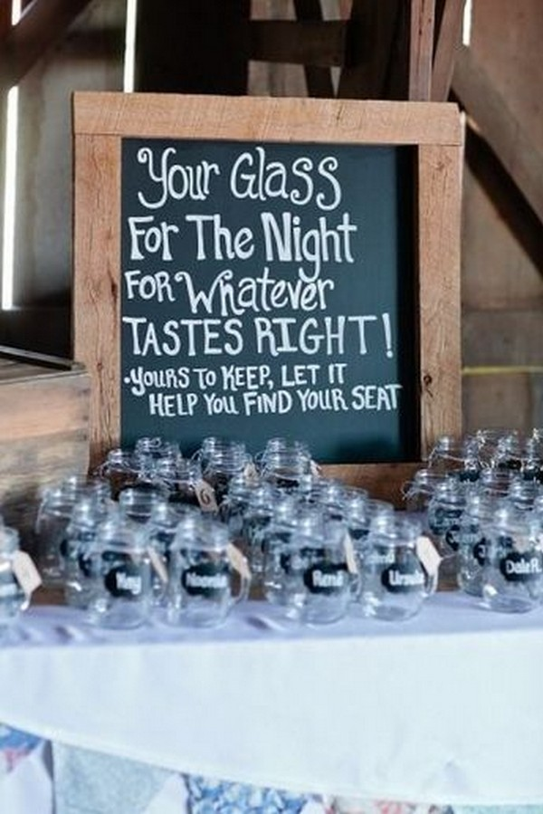 wedding drink bar sign ideas