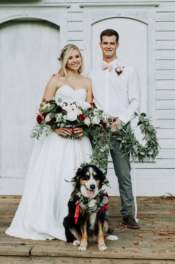 wedding photo ideas with your puppy