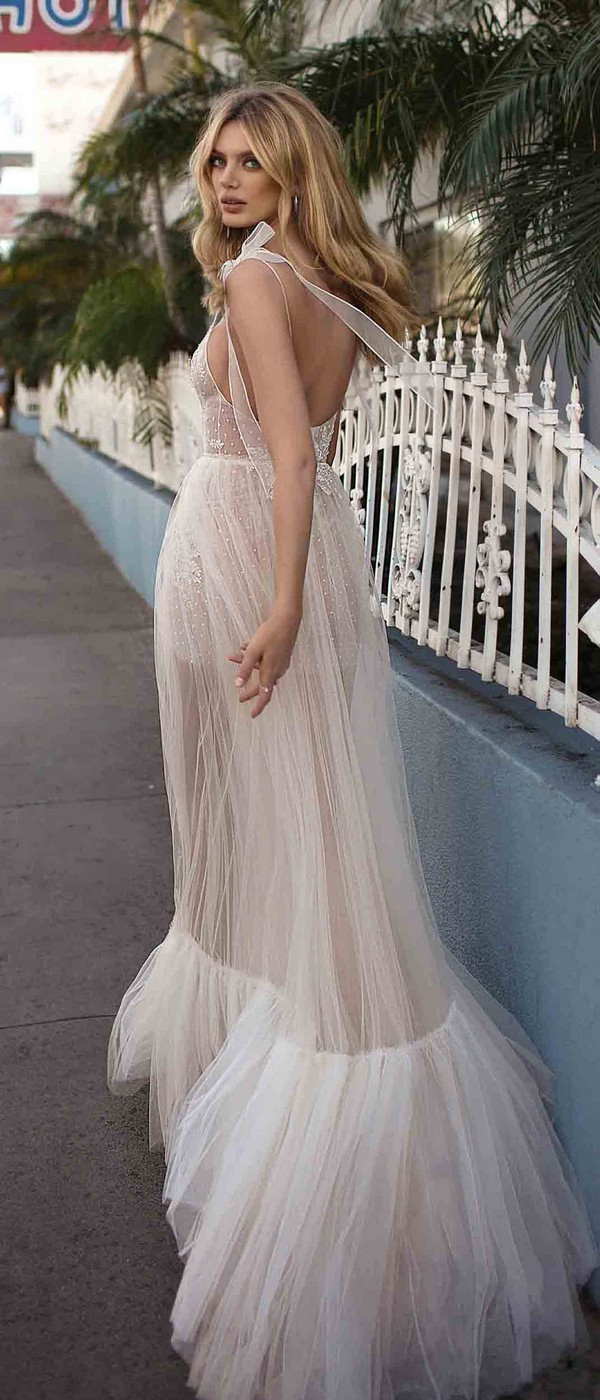 Berta by Muse Cassandra wedding dress back view 2019 collection