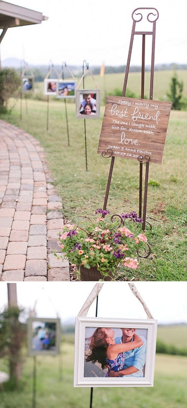 rustic wedding entrance decoration ideas with photos