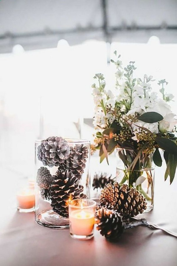 20 Whimsical Winter Wonderland Wedding Centerpieces