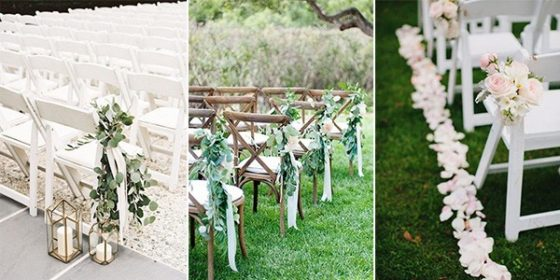 wedding aisle decoration ideas