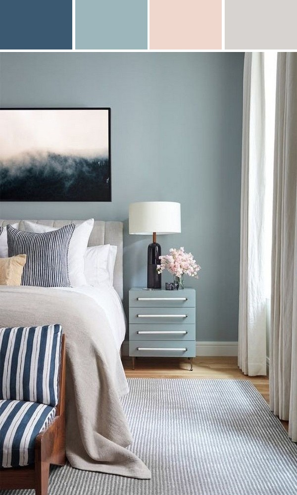 blue and pink bedroom color ideas