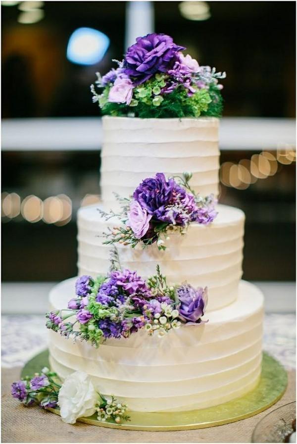 Purple And Green Wedding Cake Emmalovesweddings