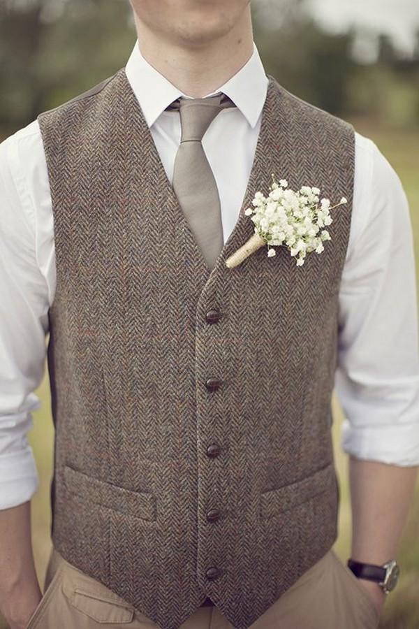 rustic goom style wedding suit ideas