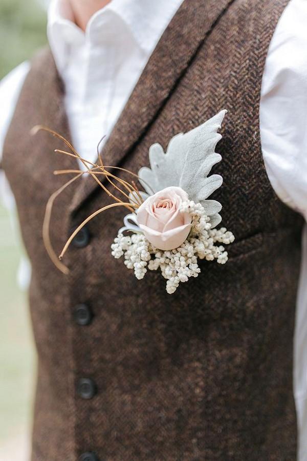 rustic outdoor groom wedding look ideas