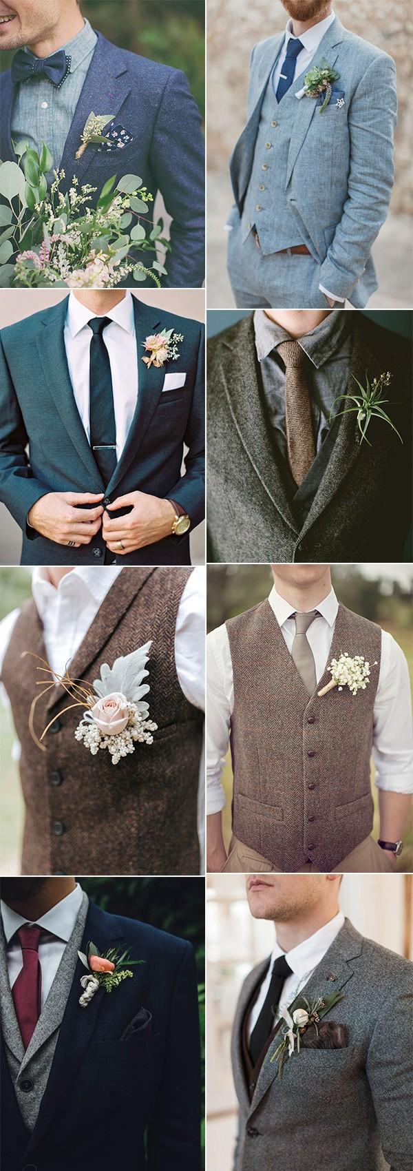 trending groom's wedding suit ideas for 2019