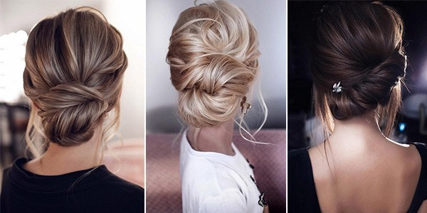 15 Stunning Low Bun Updo Wedding Hairstyles From Tonyastylist
