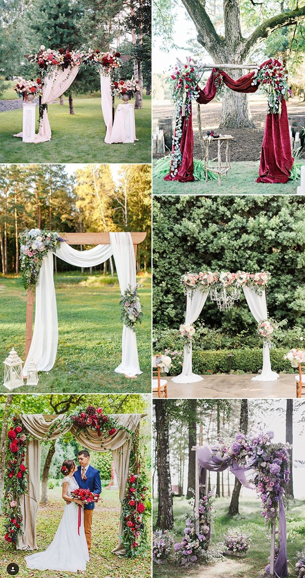 Wedding Arch And Altar Decoration Ideas