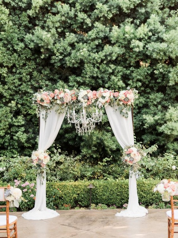 25 Gorgeous Fall Wedding Arches And Altars Ideas For Your Big Day