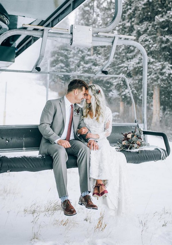 winter wedding photo ideas