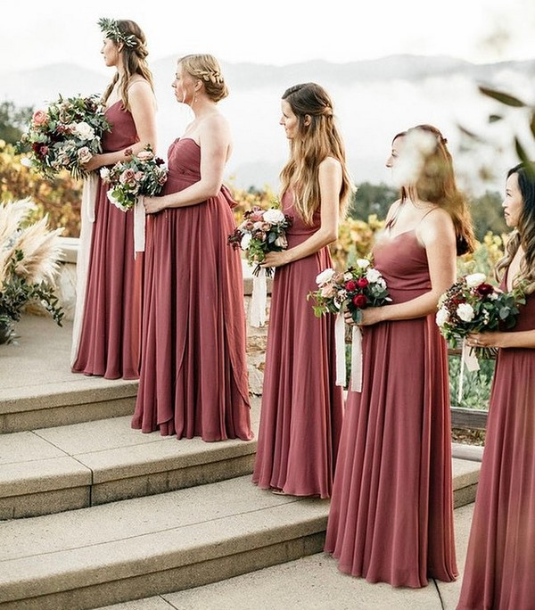5 Green Wedding Decorations That Will Leave You Speechless: Top 5 Bridesmaid Dress Color Trends For 2019