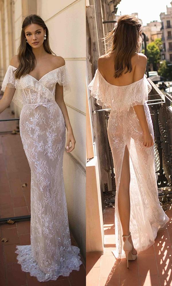 MUSE by Berta Dakota Wedding Dress 2019 Barcelona Collection