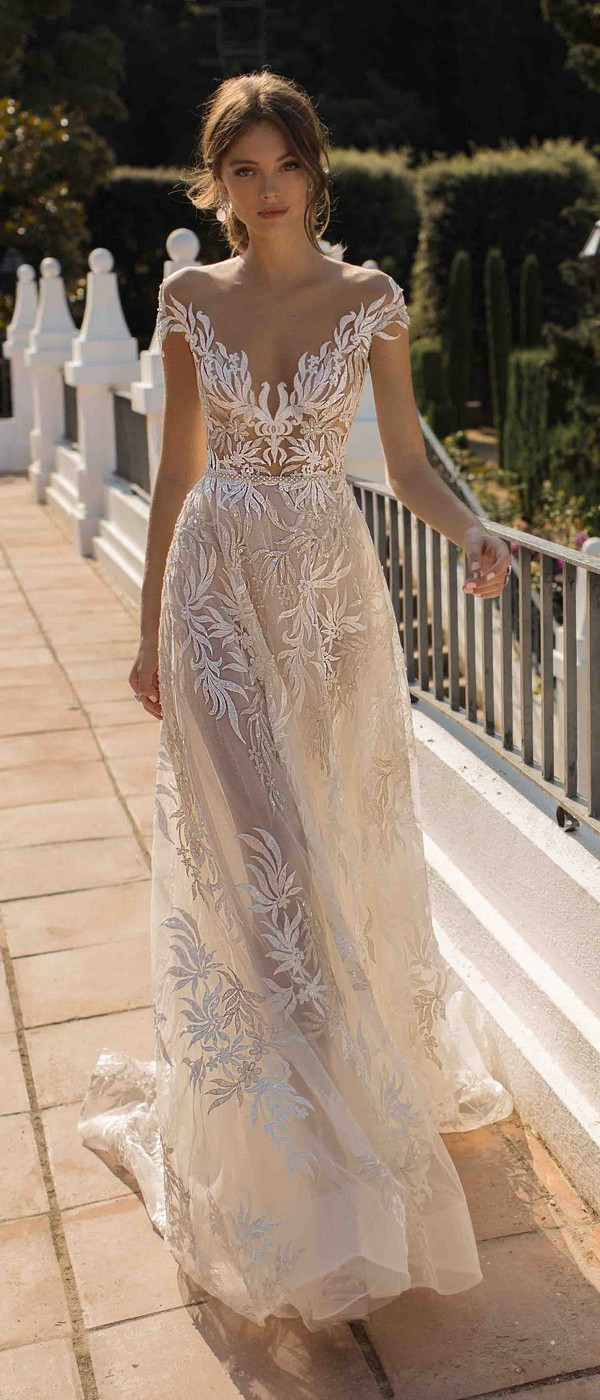 MUSE by Berta Daphne Wedding Dress 2019 Barcelona Collection