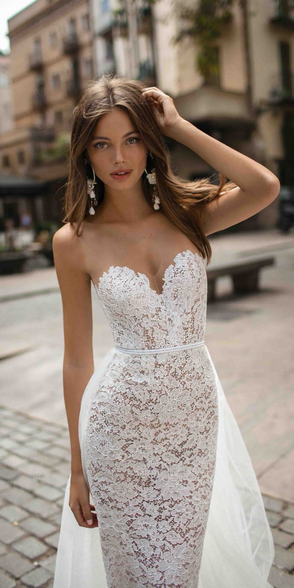 MUSE by Berta Delilah Wedding Dress 2019 Barcelona Collection