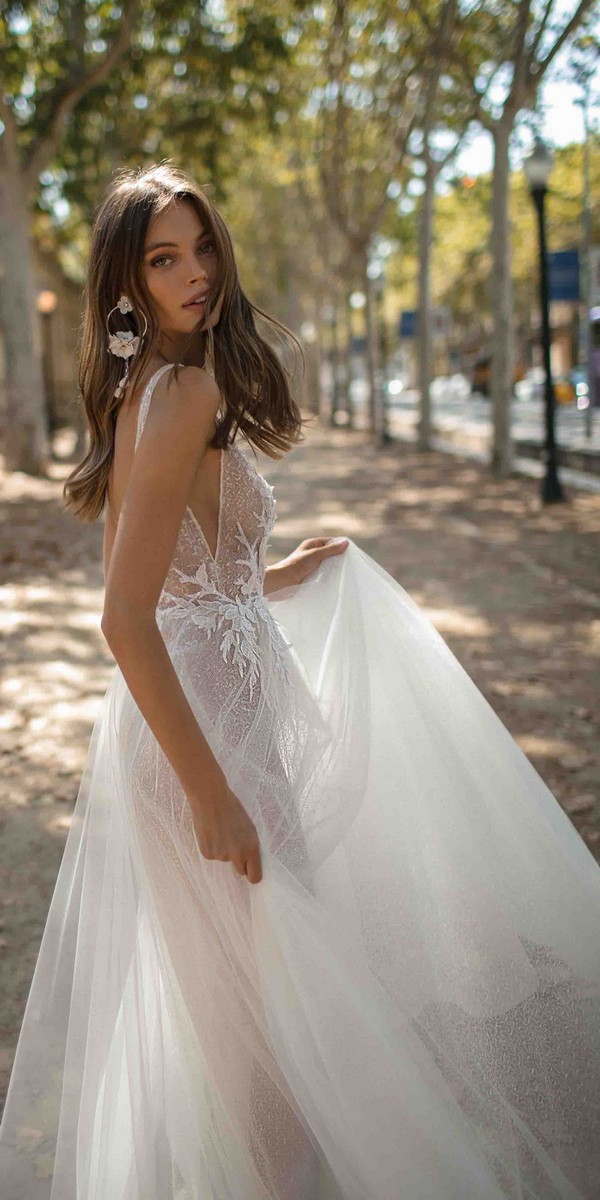 MUSE by Berta Denise Wedding Dress 2019 Barcelona Collection detail