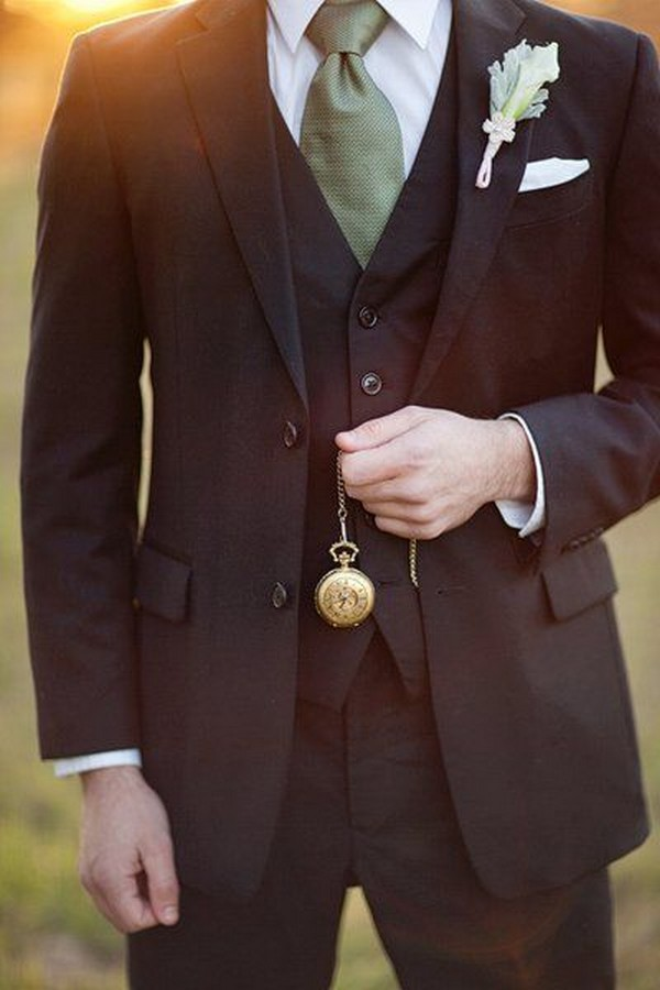 chic groom style wedding ideas