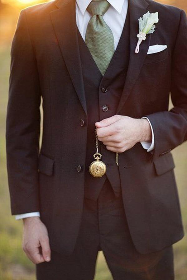 chic groom style wedding ideas