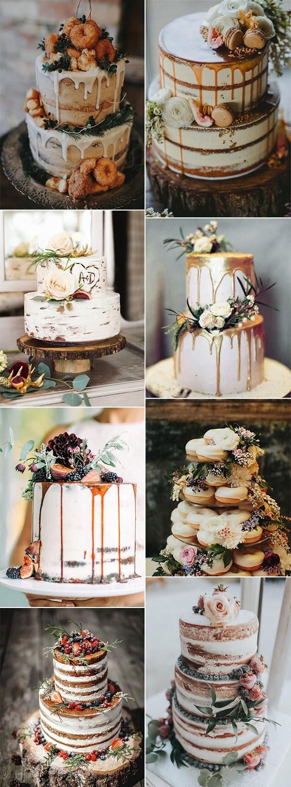 delicious fall wedding cakes