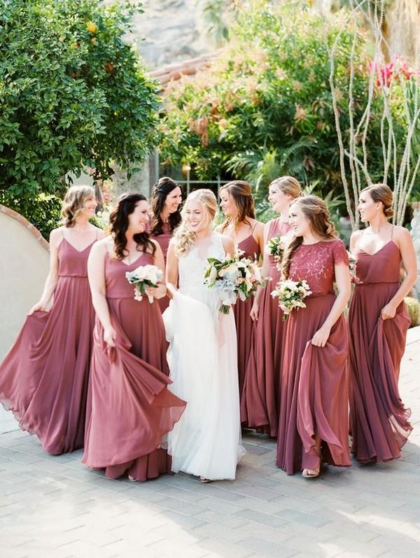 a6672de327 dusty rose bridesmaid dresses - EmmaLovesWeddings