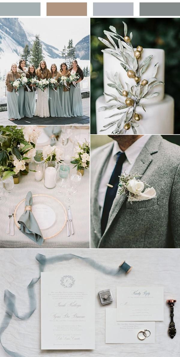Top 5 Winter Wedding Color Ideas To Love Emmalovesweddings