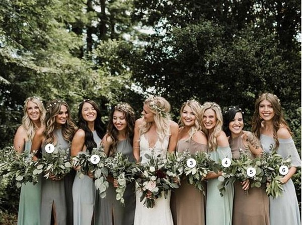 2f7e5a4d6d164 Top 5 Bridesmaid Dress Color Trends for 2019 - EmmaLovesWeddings