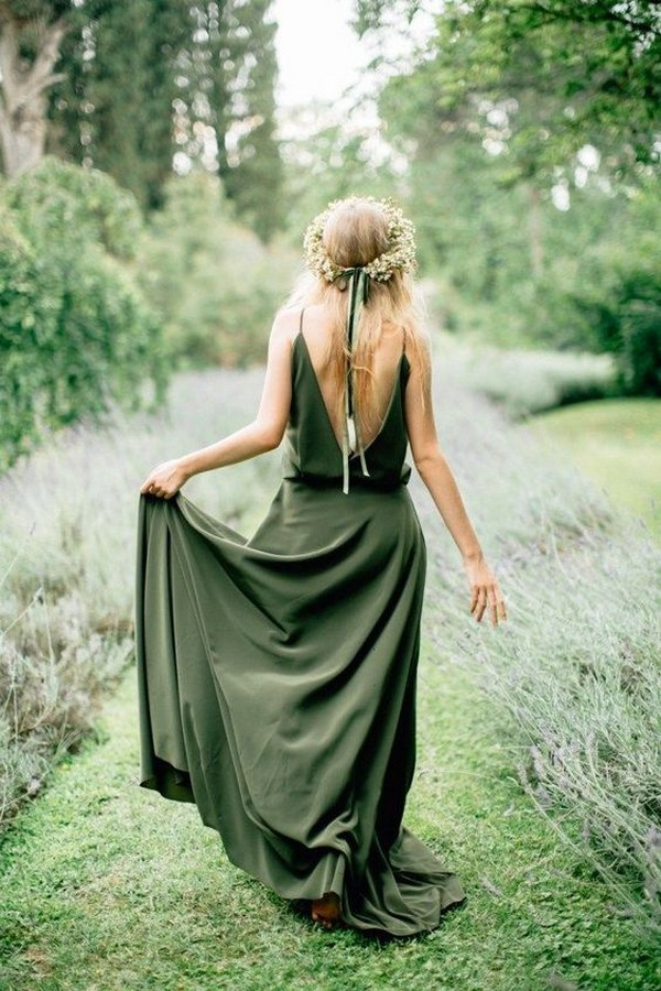 olive green bridesmaid dresses 5
