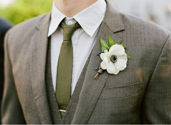 olive green groom attire wedding ideas