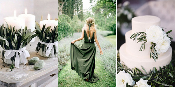 olive green wedding ideas