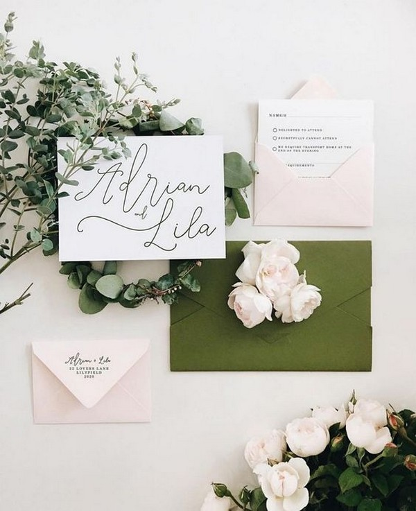 2019 2020 Wedding Trends You Ll Want To Follow: 30+ Gorgeous Olive Green Wedding Color Ideas For 2019