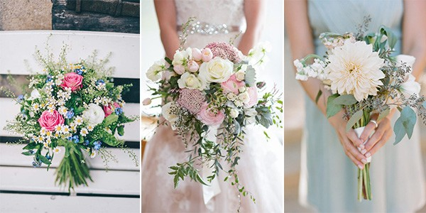 spring summer wedding bouquets