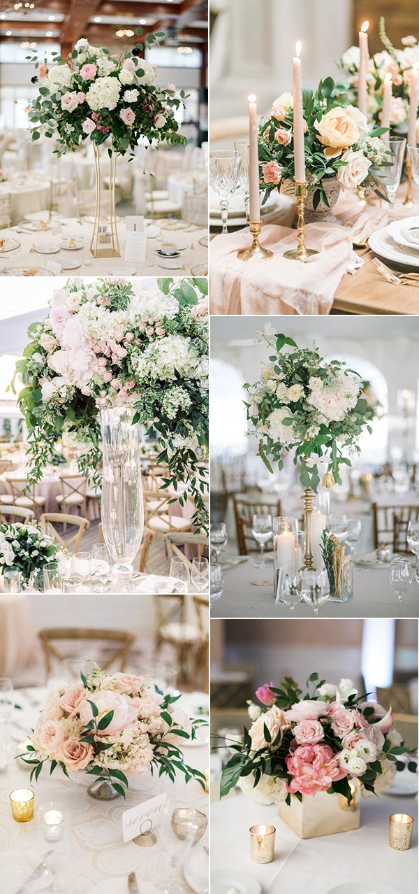 spring wedding centerpieces for 2019 trends