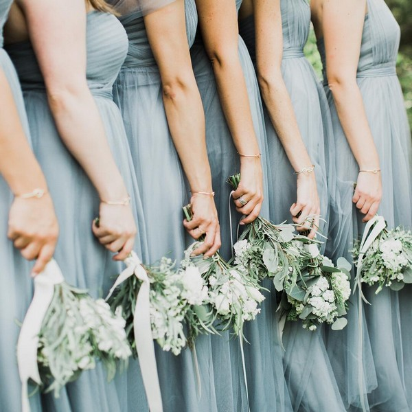 trending bridesmaid dress color for 2019
