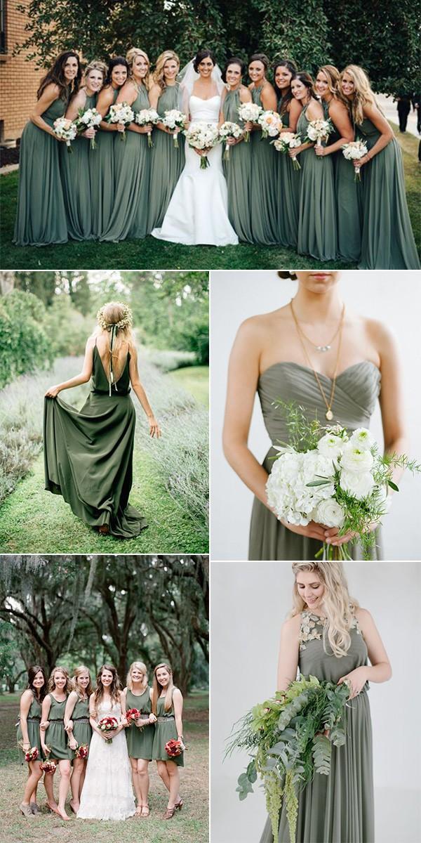 7f348613d trending olive green bridesmaid dresses - EmmaLovesWeddings